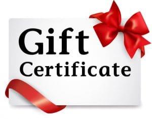 ganoderma coffee gift certificate