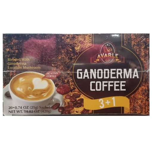 Cafe Avarle 3 + 1 Coffee with Ganoderma and Creamer